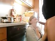 Oral Sex and Fucking in the Kitchen