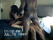 Amateur Slut MILF Shared with Two Black Men in a Great Fuck